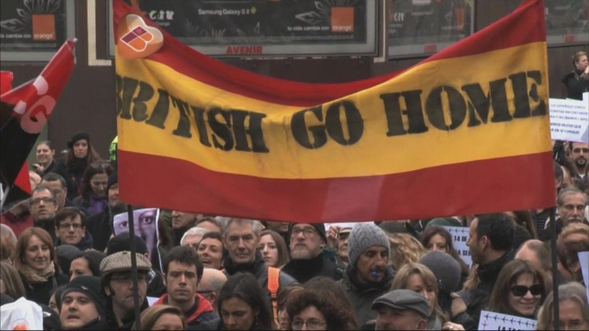 Spain: Anti-Brit Iberia strike grounds hundreds of flights