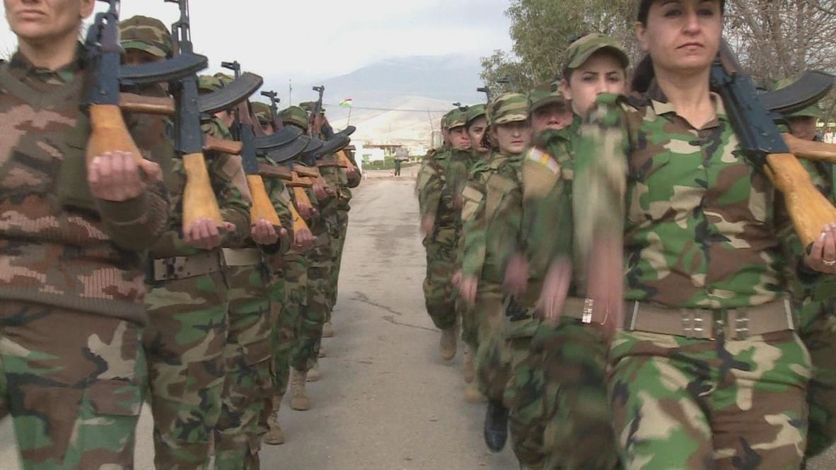 Iraq: Kurdistan's first female fighters, 'Battalion 106'