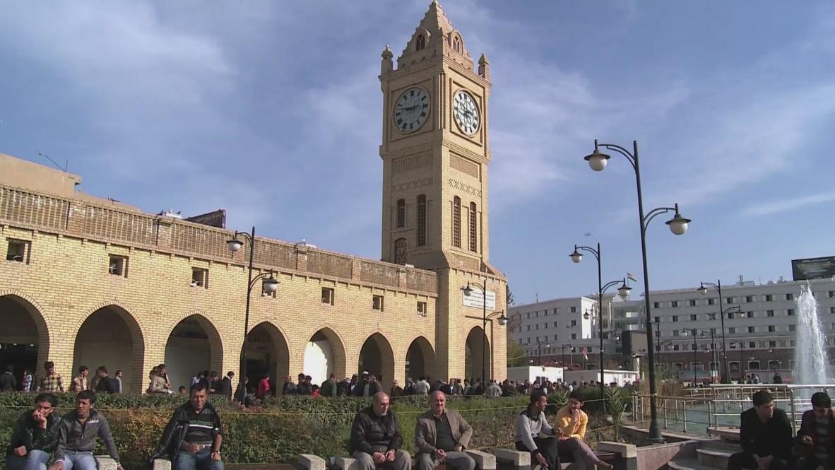 Iraq: Big Ben standing tall in Erbil