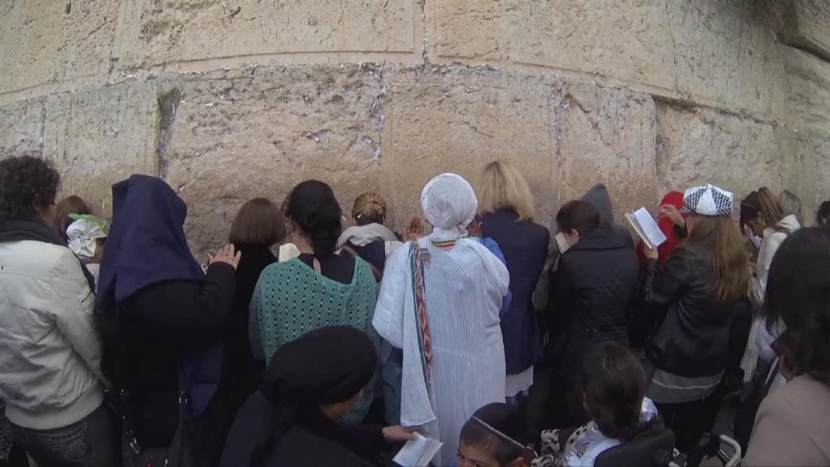 Israel: Family of Sarah Silverman rail aginst rules at Jerusalem's Western Wall
