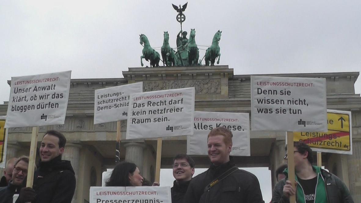 Germany: Bundestag adopts 'google tax' bill