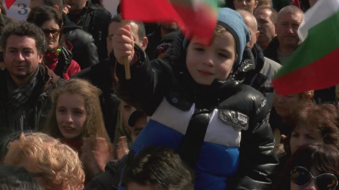 Bulgaria: National protests mark Liberation Day