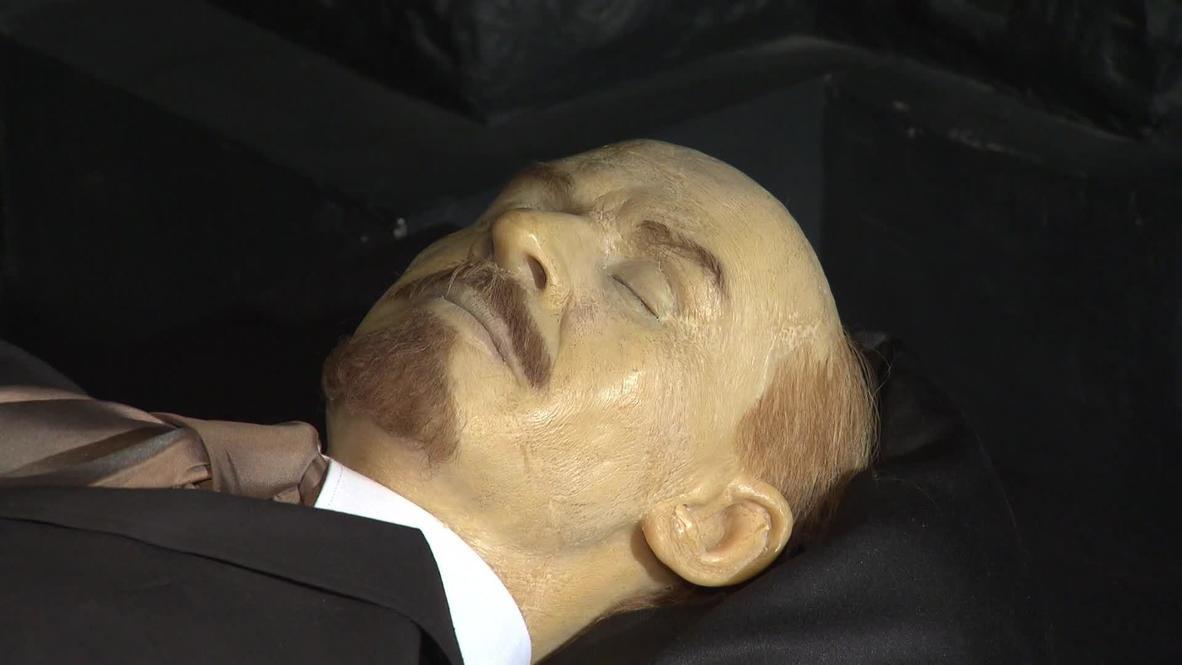 Russia: Lenin still dreaming of revolution in Moscow