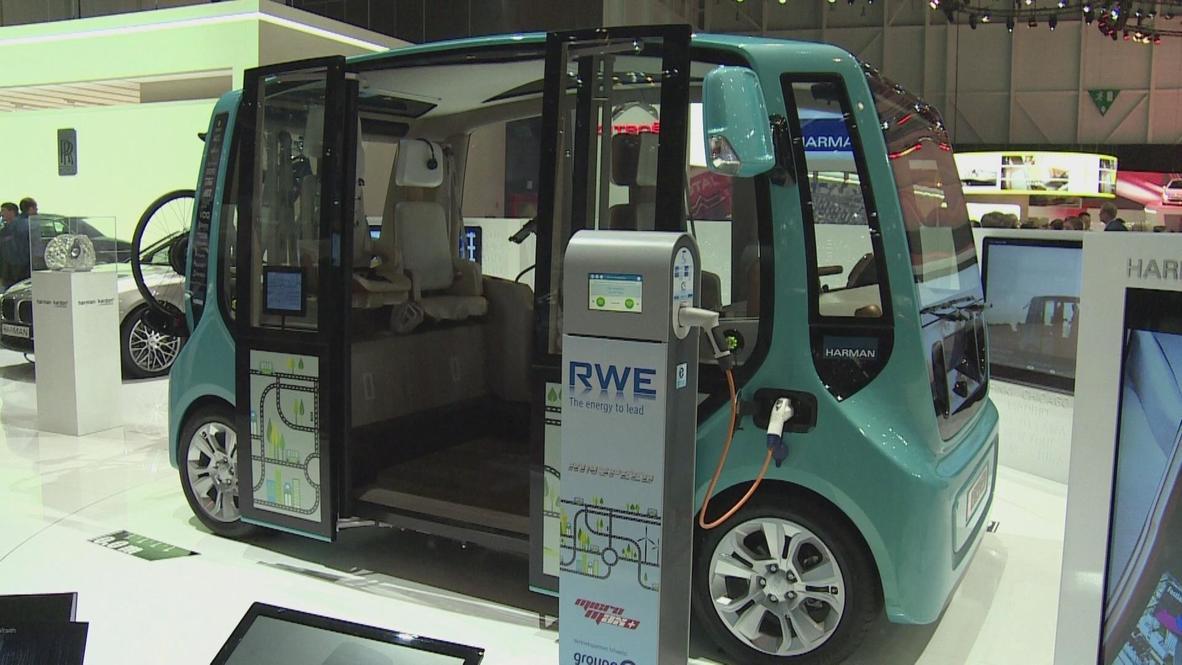 Switzerland: Innovative electric cars generate buzz in Geneva
