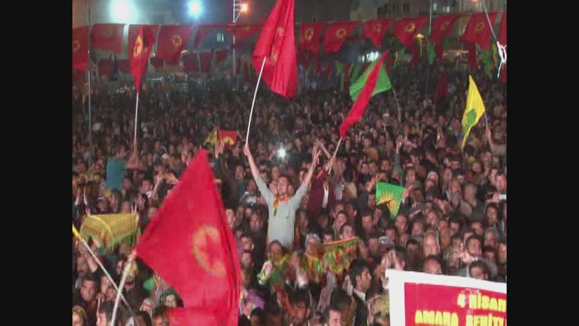 Turkey: PKK hold party for jailed leader's birthday