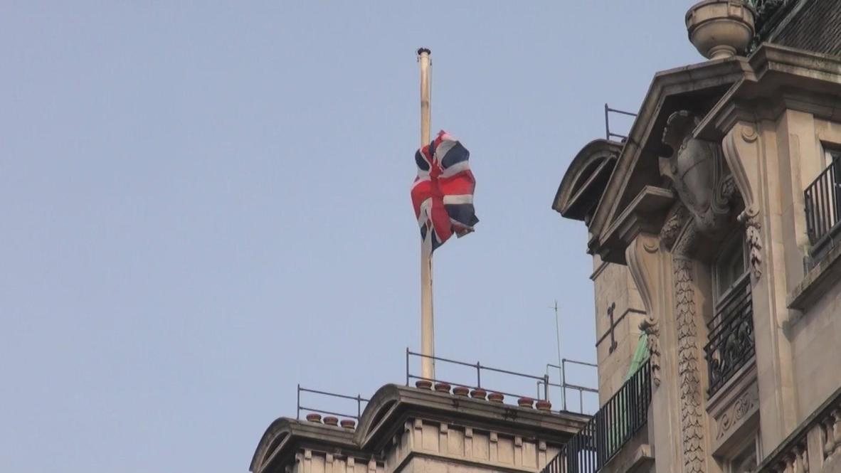UK: 'Iron Lady' dies aged 87