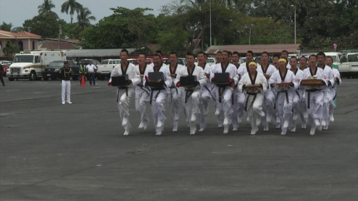 Nicaragua: Taiwanese black belt cadets get their kicks in Nicaragua