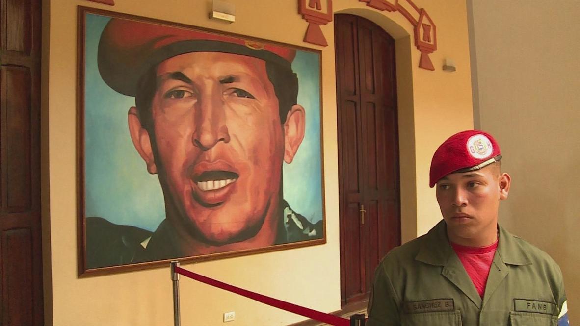 Venezuela: Chavez pilgrims flock to Caracas shrine