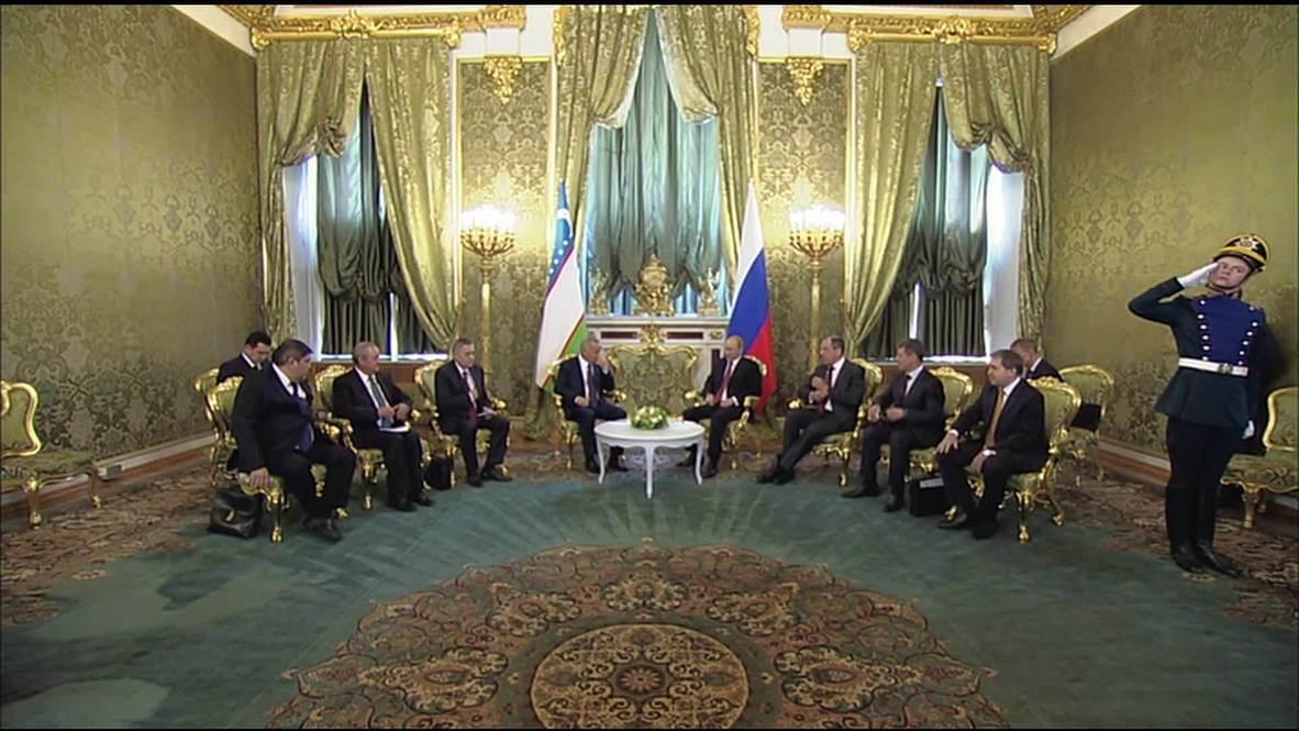 Russia: Moscow hosts Uzbek President Karimov