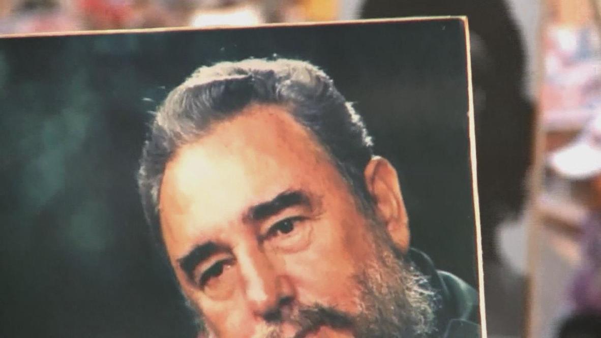 Cuba: Festive mood but no Fidel as May Day lands in Cuba
