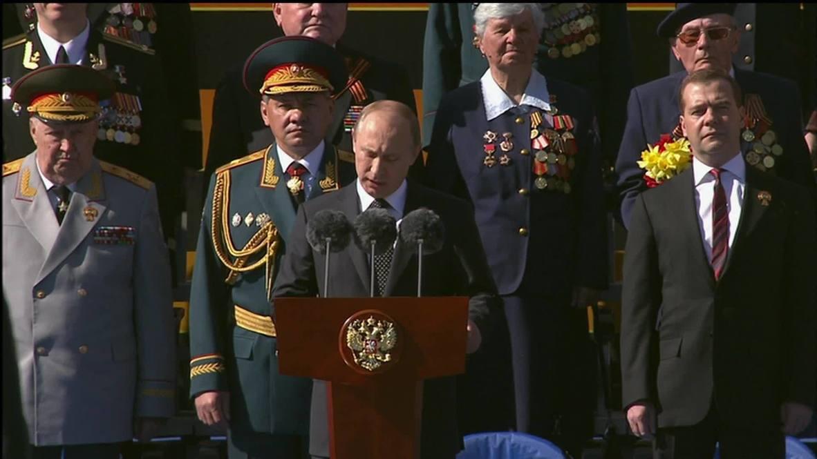 Russia: Putin praises Russian veterans on Victory Day