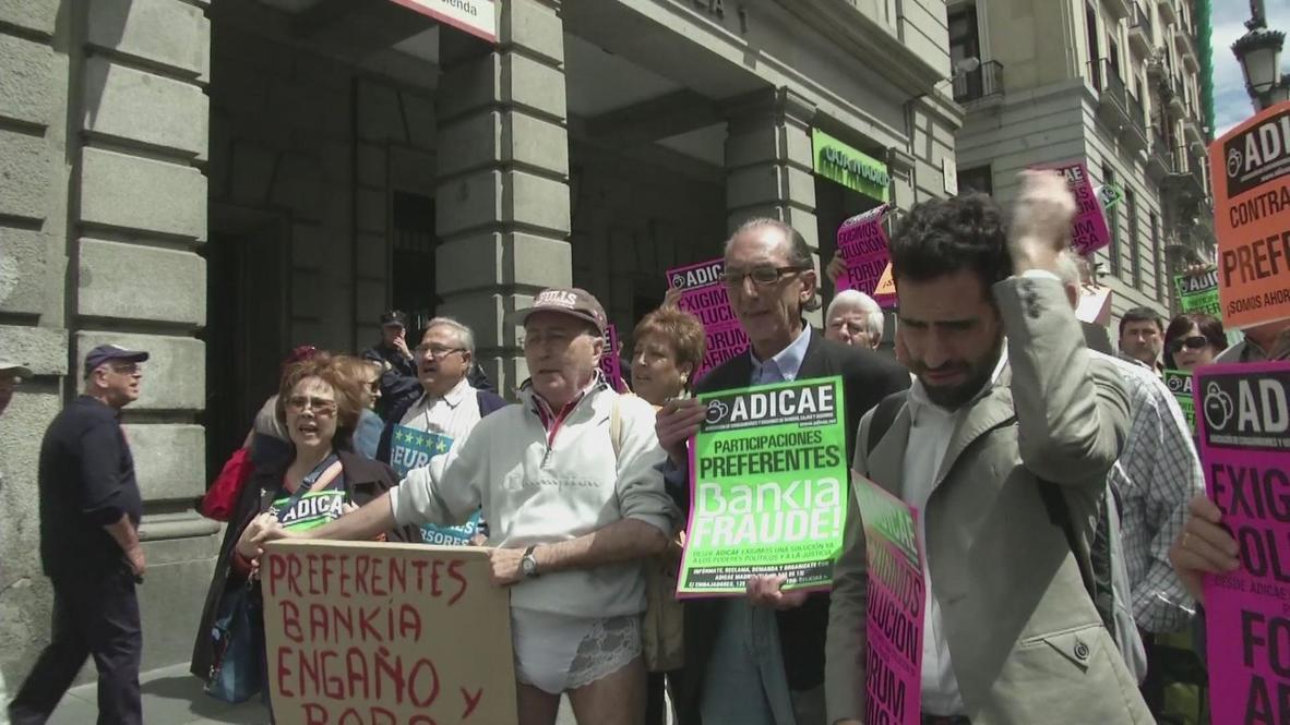 Spain: Retiree 'stripped' of savings by Bankia losses