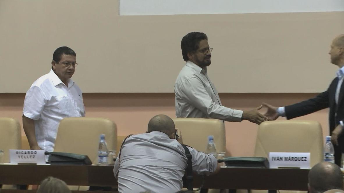 Cuba: FARC and Colombian government make peace talks breakthrough