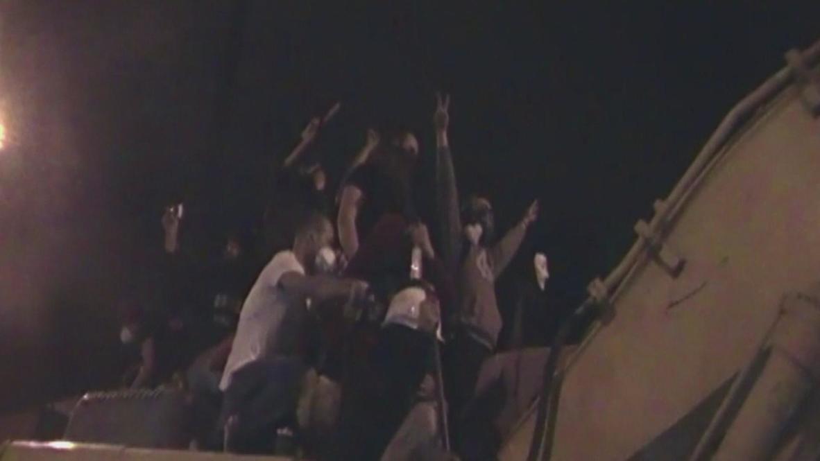 Turkey: Protesters close to bulldozing Erdogan's office