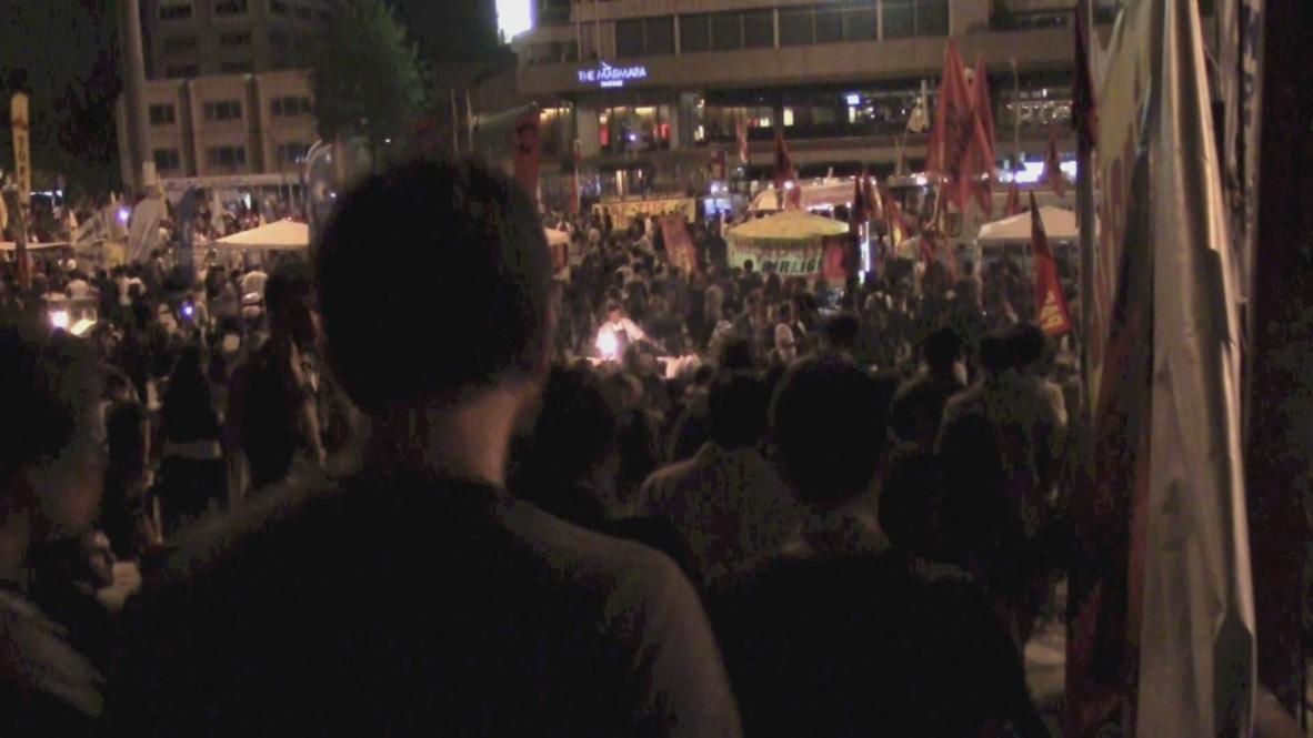 Turkey: Gezi Park occupation holds fast