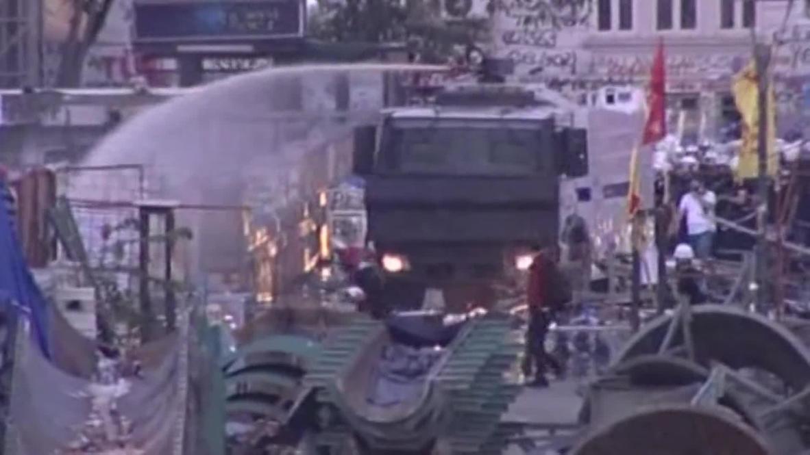"Turkey: Erdogan's ""foul play"" as Taksim is cleared"