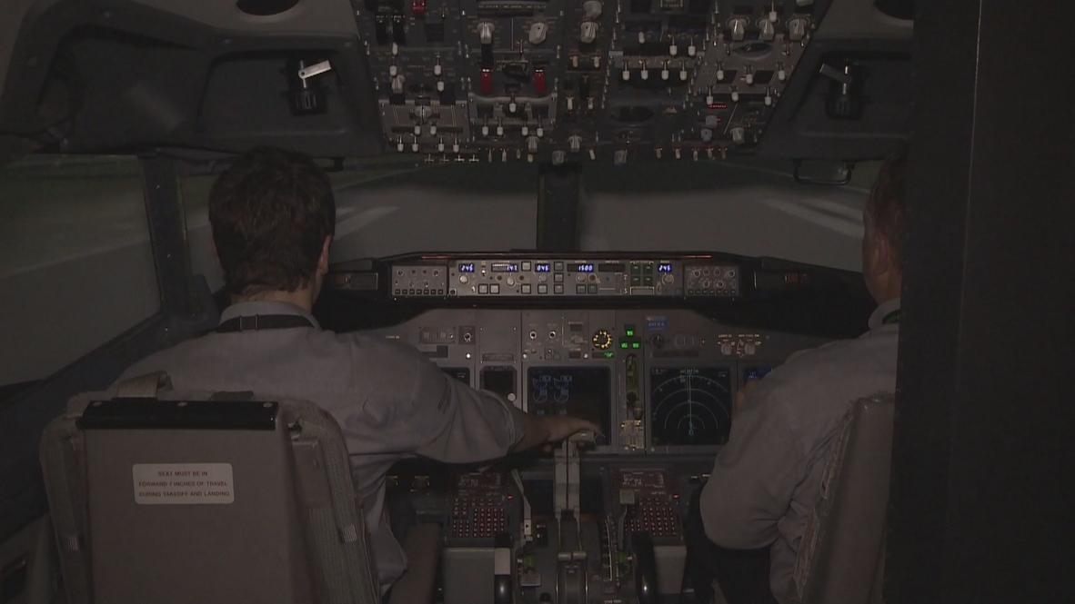 France: World premiere of Venyo flight simulator at Paris Air Show