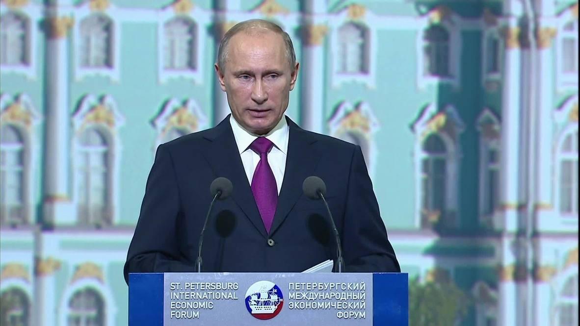 Russia: Putin announces major investment programme