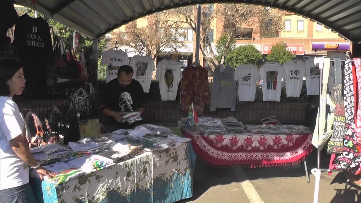 South Africa: Sales increase as Mandela's health declines