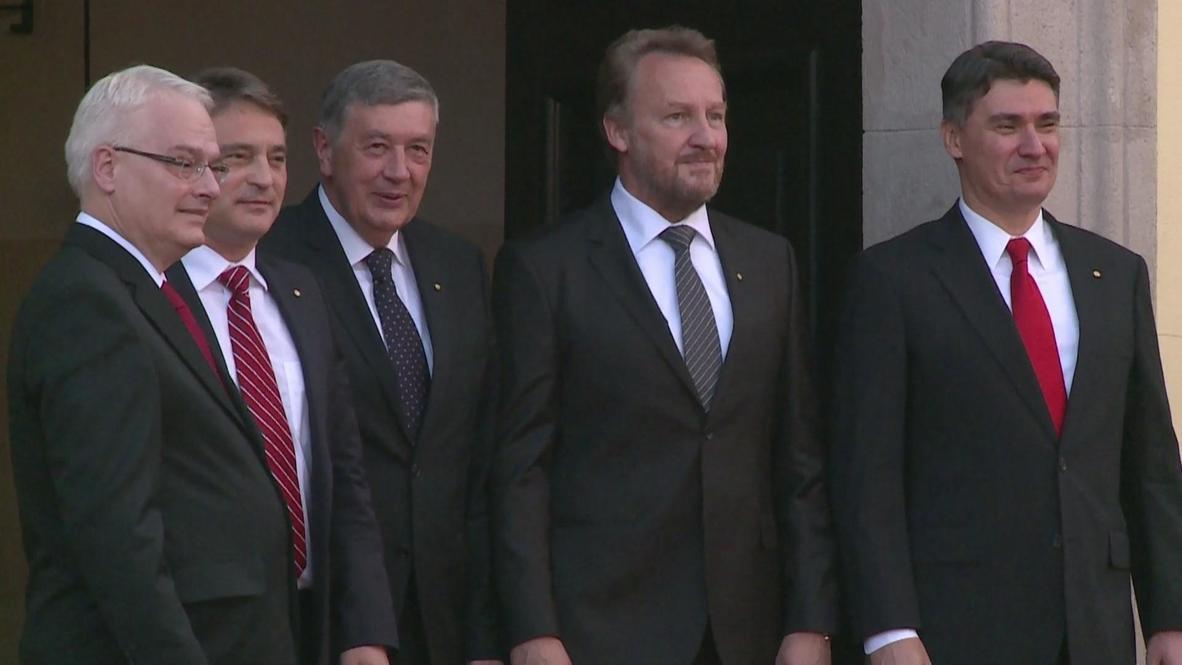 Croatia: Ministers meet ahead of national celebrations