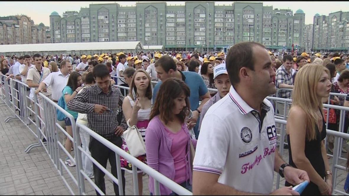 Russia: Summer Universiade kicks-off in Kazan