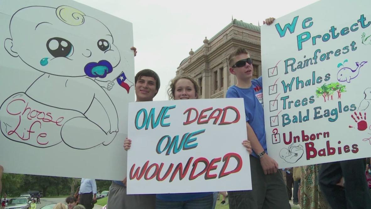 USA: 'God vs. satan' in abortion showdown