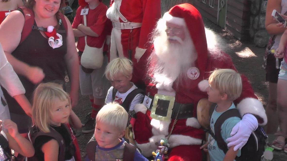 Denmark: Santa Claus World Congress meet and compete