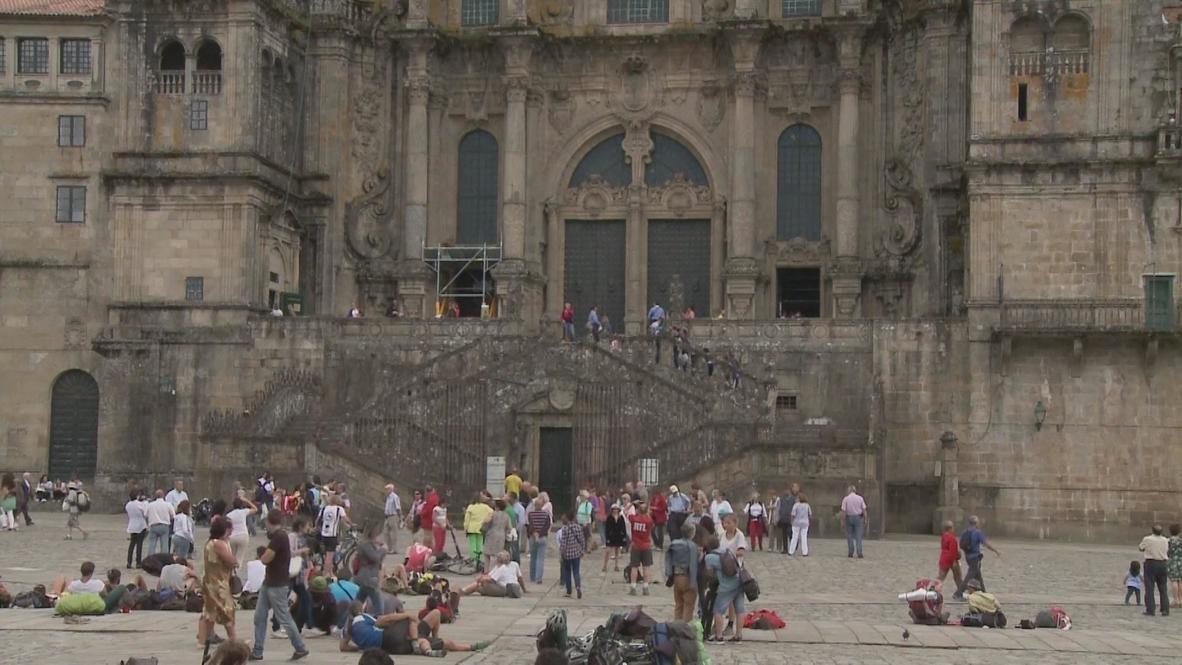Spain: Grief overcomes the pilgrim city of Santiago de Compostela
