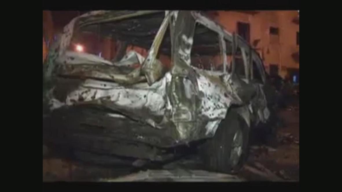 Libya: Benghazi rocked by blasts