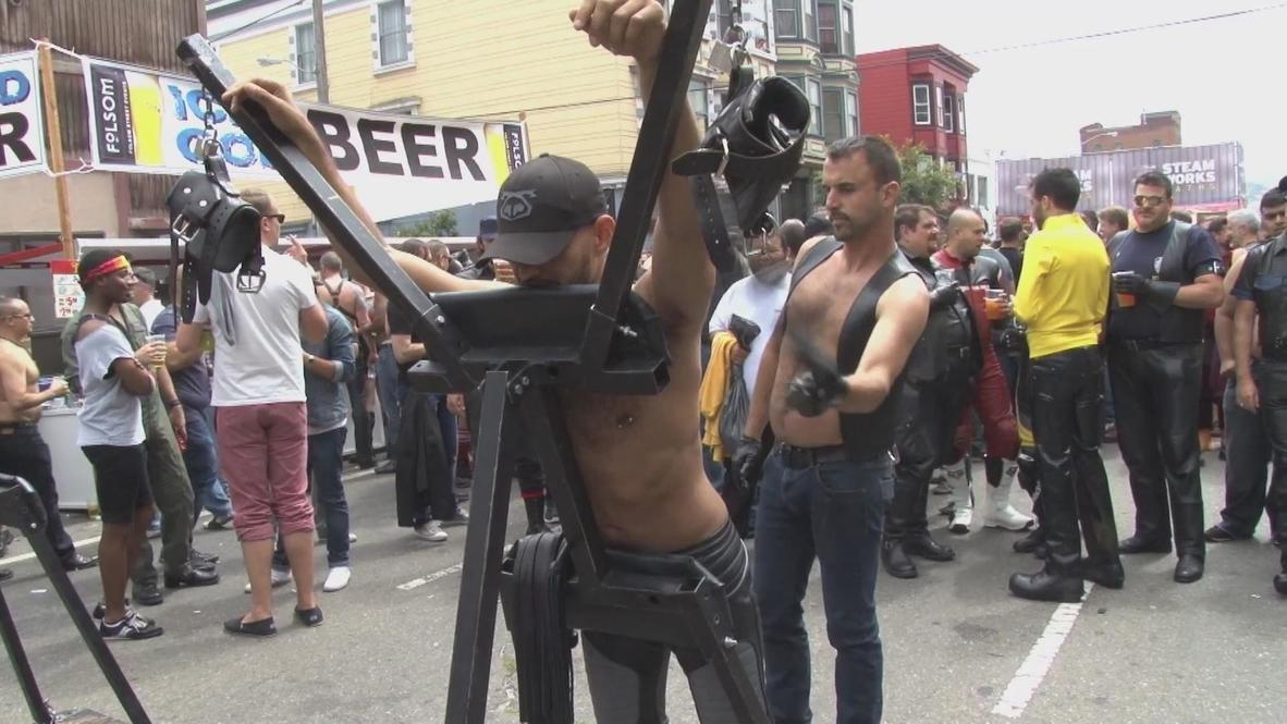 USA: Filthiest fetish fair warms up San Francisco