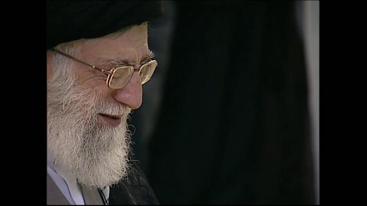 Iran: Ayatollah Khamenei leads Eid prayers for the nation