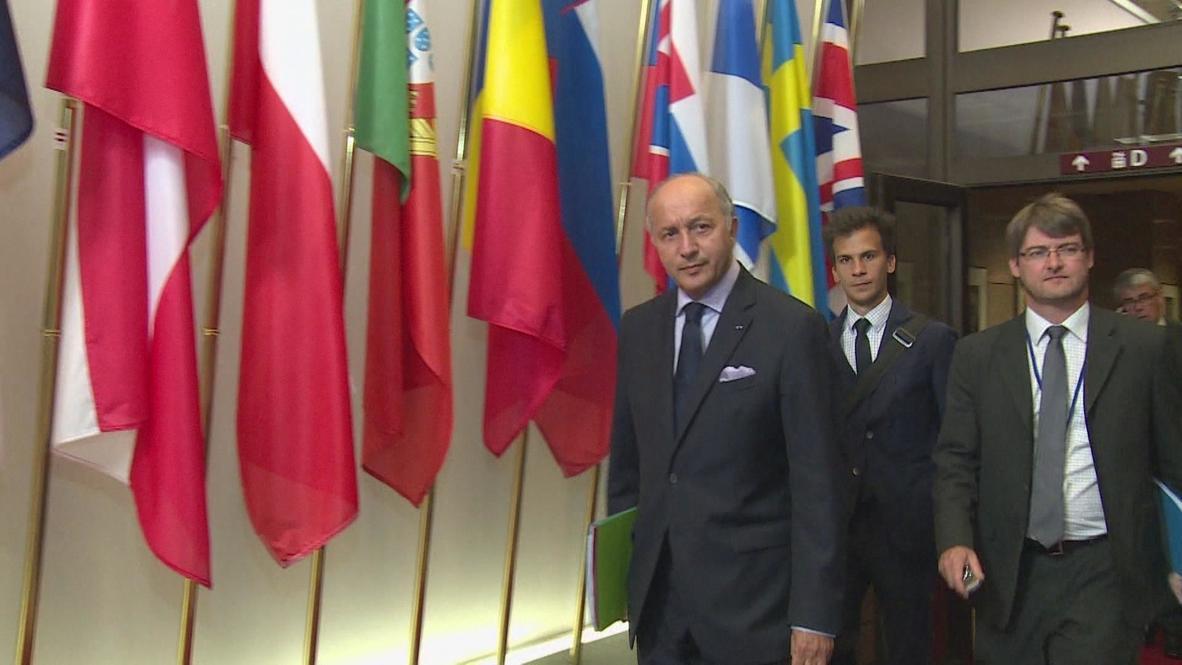 Belgium: EU condones Egypt violence - French FM