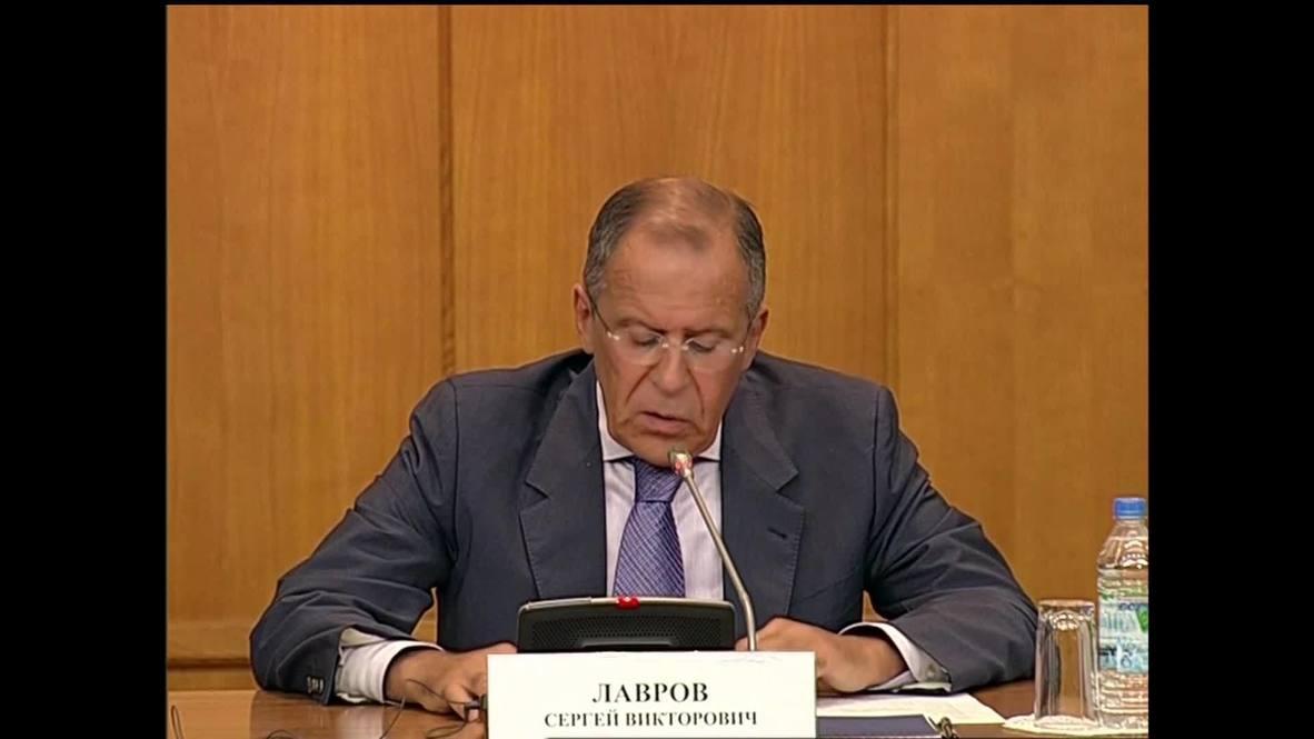 Russia: Hysteria intended to derail Geneva conference - Lavrov