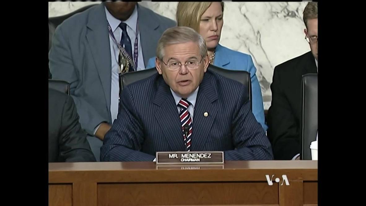 USA: Inaction on Syria emboldens North Korea and Iran - Senator Menendez