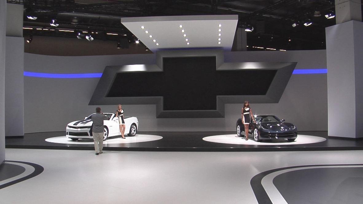 Germany: Corvette 2014 Stingray shines in Frankfurt