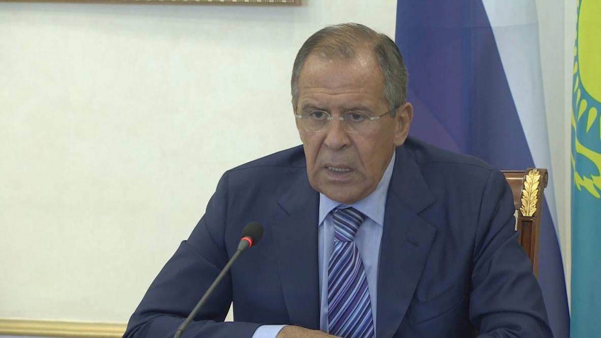 Kazakhstan: Talks on Geneva-2 to take place during Kerry meeting - Lavrov