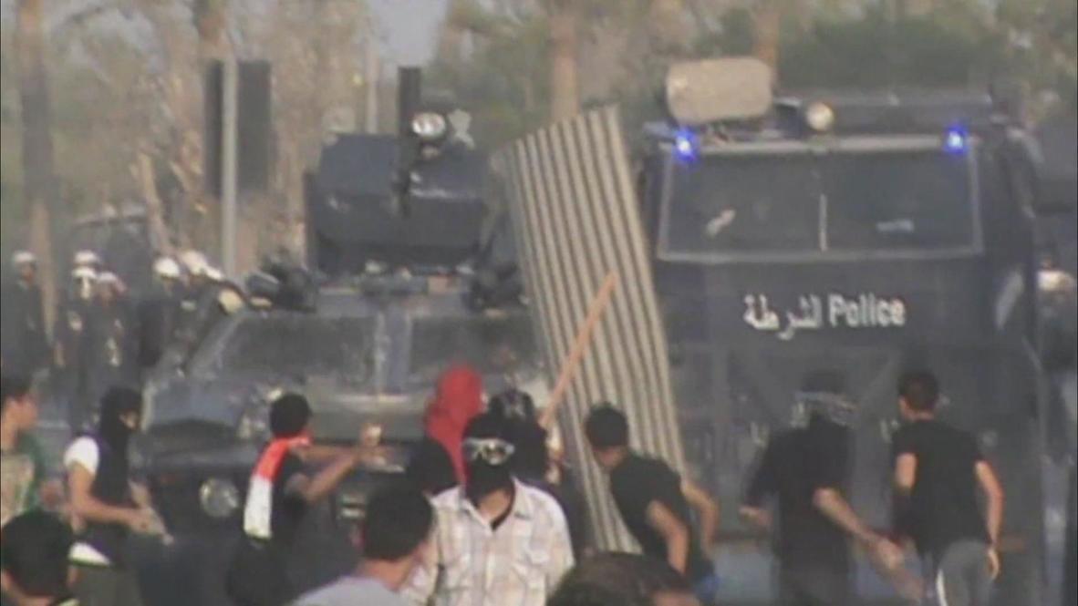 Bahrain: Protests rage after police car kills protester