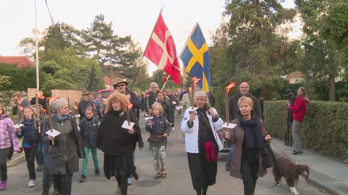 Denmark: Lights commemorate dark flight from Nazis