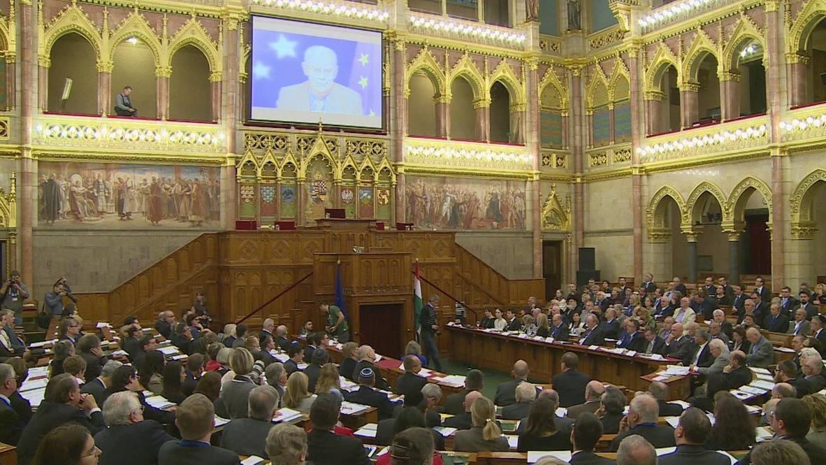 Hungary: 'Resurgence of anti-Semitism' prompts Budapest conference