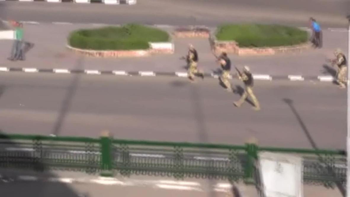 Egypt: Tanks roll against Brotherhood supporters