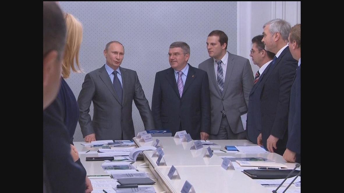 Russia: Everyone welcome at Sochi regardless of sexual orientation, Putin