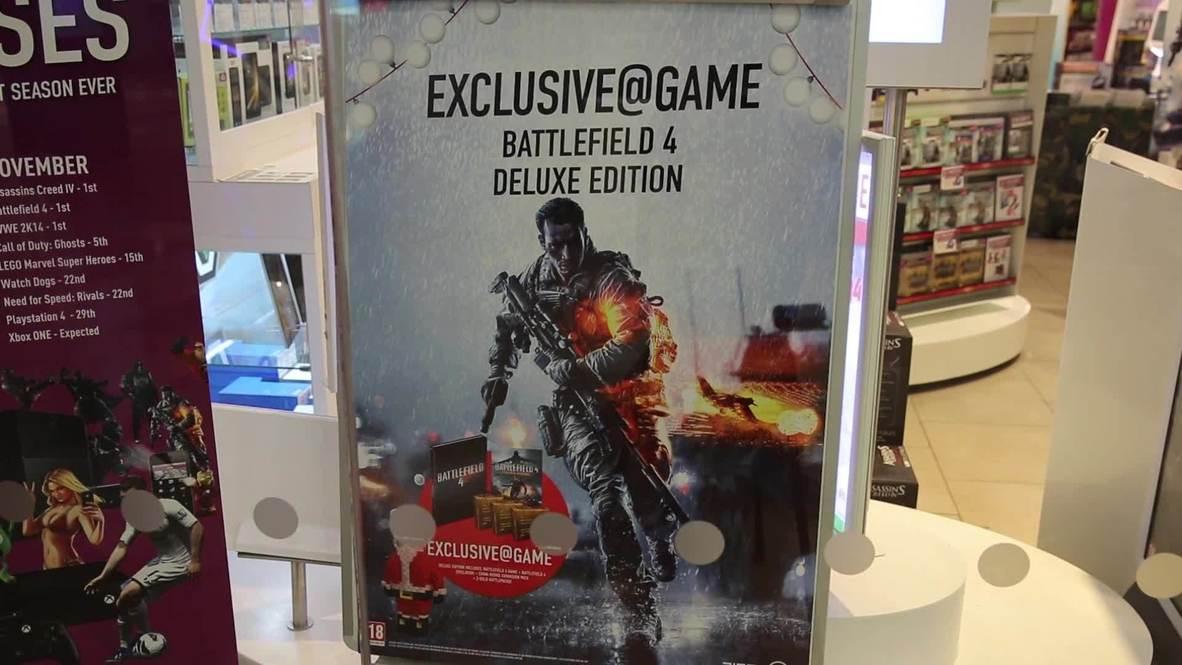 UK: Gamers skip Hallowe'en celebrations for Battlefield 4 launch