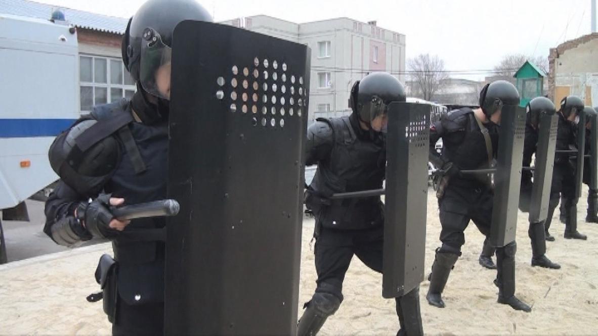 Russia: Elite army unit channels twin power
