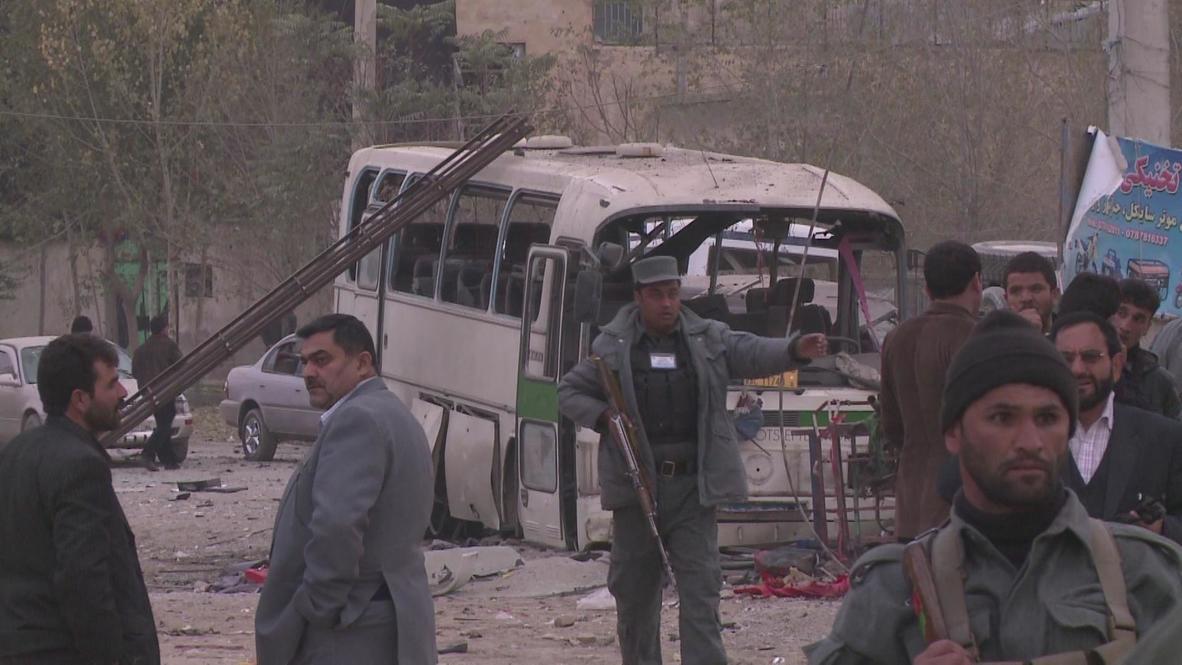 Afghanistan: Bomb blast rips through the capital