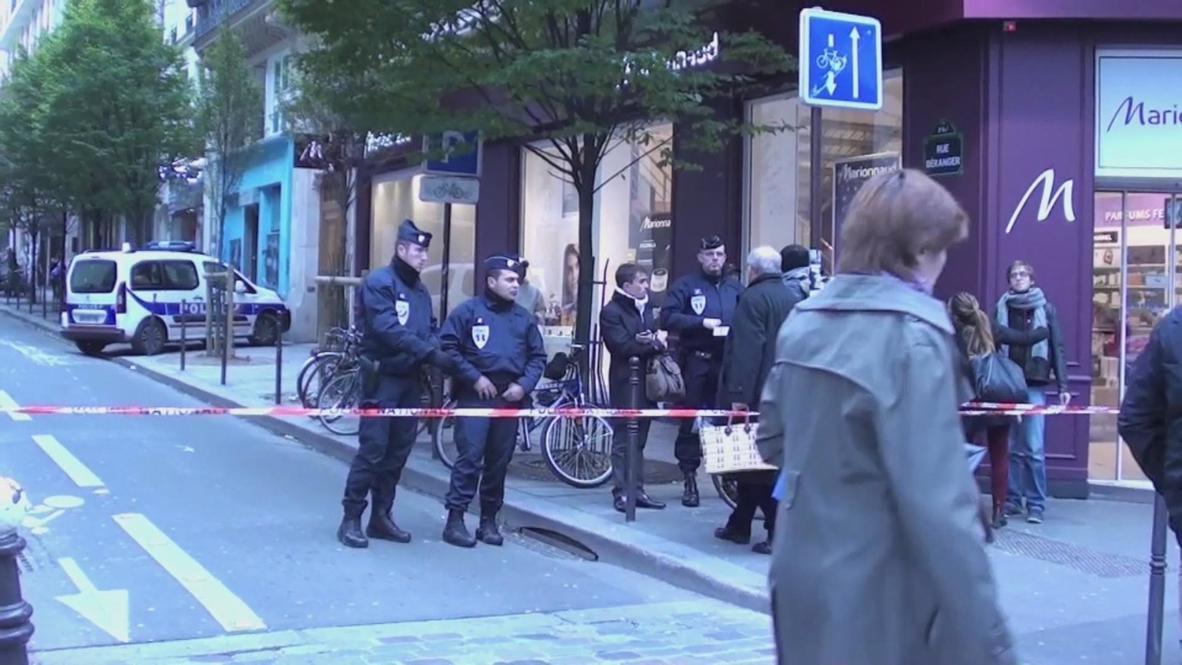 France: Liberation newspaper Paris HQ targeted by gunman