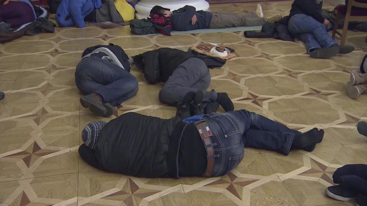 Ukraine: Protesters continue Kiev City Hall occupation