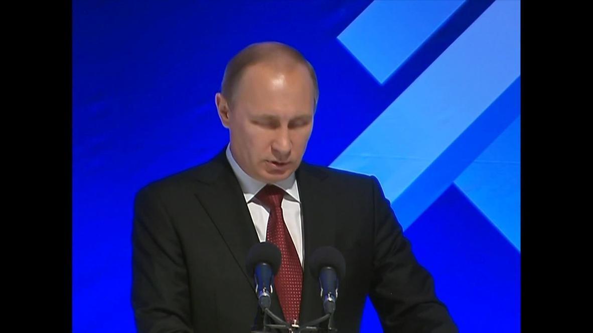 Armenia: Putin backs Armenian membership of Customs Union