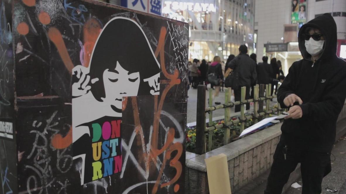 Japan: Graffiti activist 281 Anti Nuke fighting for free speech