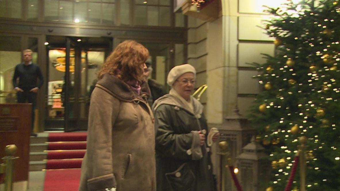 Germany: Khodorkovsky family visit Adlon Hotel
