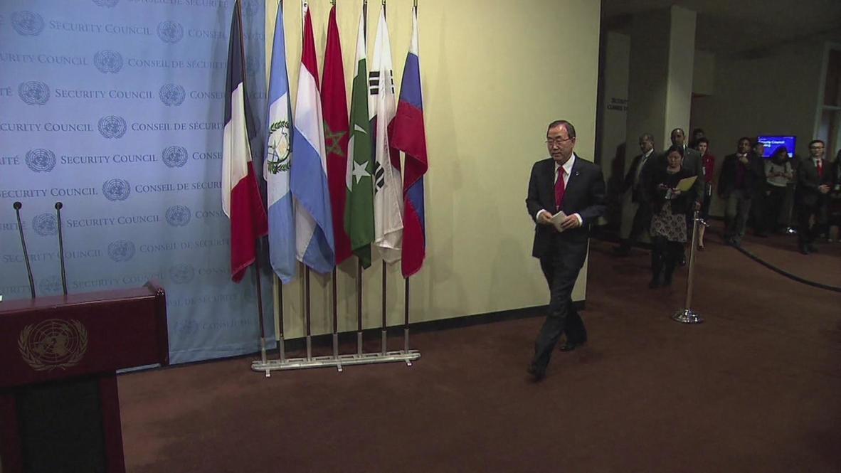UN: South Sudan targeted attacks could constitute war crimes - Ban Ki-Moon